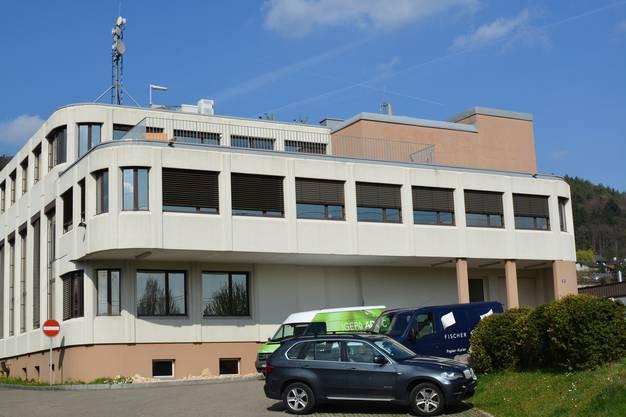 Der Gewerbecampus von der Steinhaldenstrasse aus gesehen: Drei Jahrzehnte lang war hier die Druckerei Goetz zuhause – bis sie 2013 Konkurs ging.
