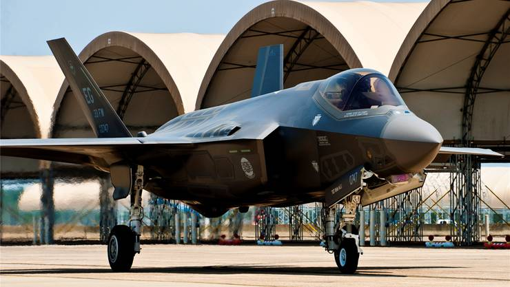 Ein F-35 Joint Strike Fighter der US-Armee.Wikipedia Commons