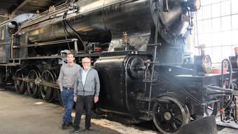 Bahnpark Brugg: Hier kommen Dampflokfans auf ihre Kosten
