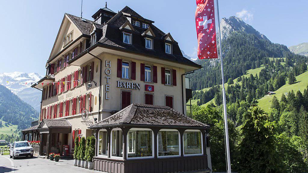 Schweizer Hotels konnten sich im ersten Halbjahr 2017 im Vergleich zum Vorjahr wieder über mehr Gäste freuen. (Symbolbild)
