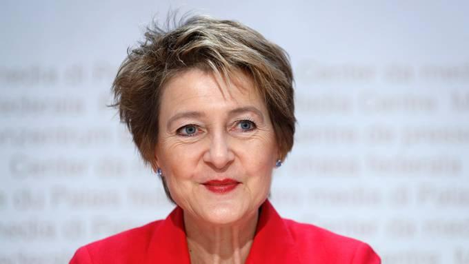 Simonetta  Sommaruga.