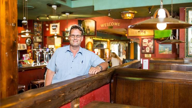«Alle Veränderungen konnten wir auffangen, und wir blieben ein beliebter Treffpunkt für die Jungen in Aarau», sagt Roland Gubler, der 18 Jahre das Pub am Graben leitete.