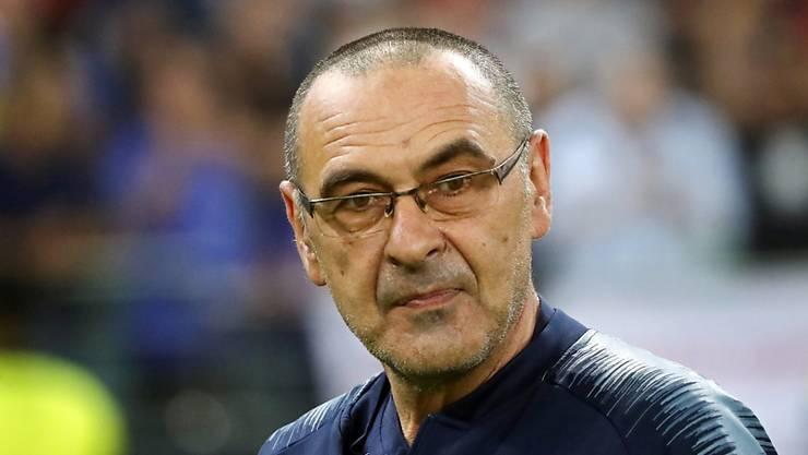 Verlässt Chelsea nach nur einem Jahr und wird Trainer bei Juventus Turin: Maurizio Sarri