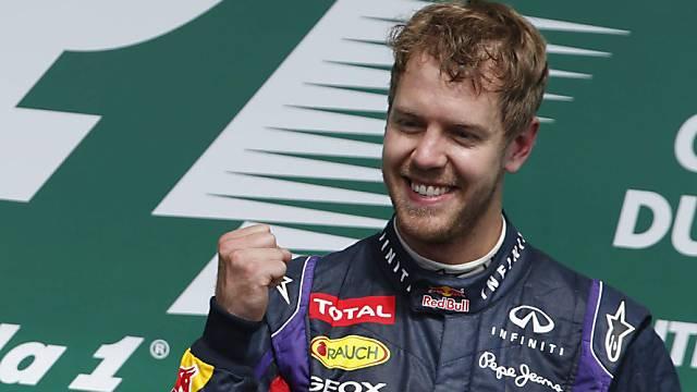 Sebastian Vettel bleibt bis Ende 2015 bei Red Bull