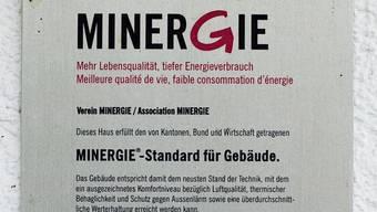 Ziel ist, das BZZ im Minergie-Eco-Label zu zertifizieren.