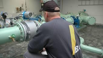 Kosten steigen: Bei konstanten Kosten für Pumpwerke und Leitungen der IBAarau sinkt der Verbrauch.