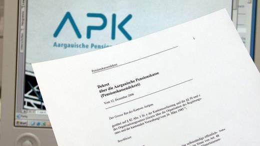Der Aargauer Pensionskasse (APK) machen tiefe Zinsen, Rezessionsängste und die Schuldenkrise zu schaffen.