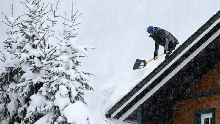 In weiten Teilen Österreichs sind Anfang Januar erhebliche Mengen an Schnee gefallen.