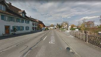 An der Poststrasse in Rheinau kam es zum Streit.