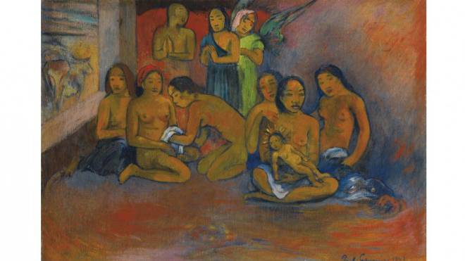 Paul Gaugins «Nativité» gehört einer unbekannten Ananda Foundation. Foto: ZVG
