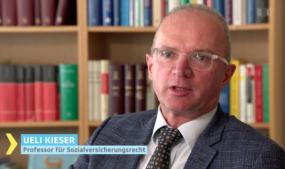 Ueli Kieser, Professor für Sozialversicherungsrecht an der HSG St.Gallen.