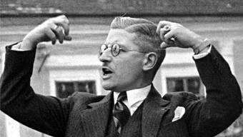 Das rednerische Talent des Kanzlers Kurt Schuschnigg reichte nicht aus, um Österreich zu erhalten.