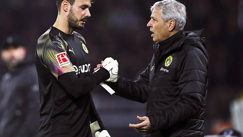 """Bürki kämpft mit BVB weiter um den Titel: """"Alles möglich"""""""