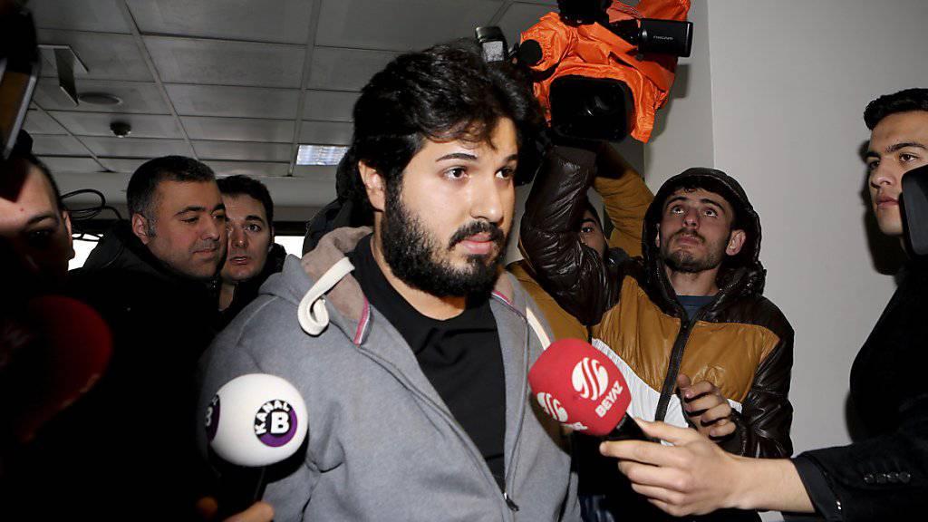 Der türkisch-iranische Geschäftsmann Reza Zarrab soll US-Sanktionen umgangen haben. (Archivbild)