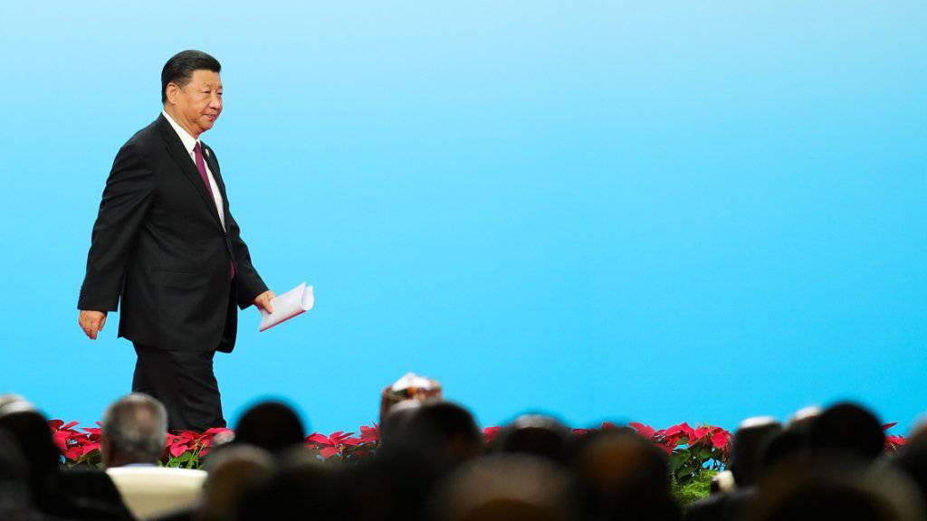 Milliardenkredite für Afrika: Chinas Präsident Xi Jinping hat am Montag am China-Afrika-Gipfel Investitionen von zusätzlichen 60 Milliarden Dollar angekündigt.