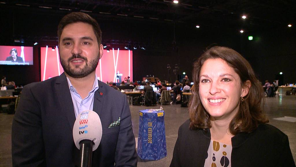 Generationenwechsel: SP wählt Mattea Meyer und Cédric Wermuth an die Spitze