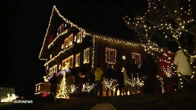 Das schönste Weihnachtshaus