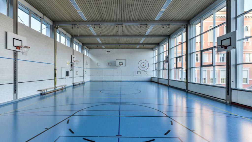 Die Turnhalle der Stanser Mittelschule ist sanierungsbedürftig.