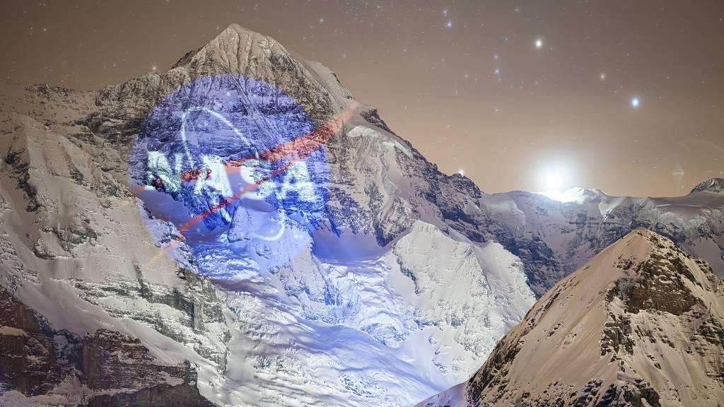 Astronaut auf Eigernordwand gelandet