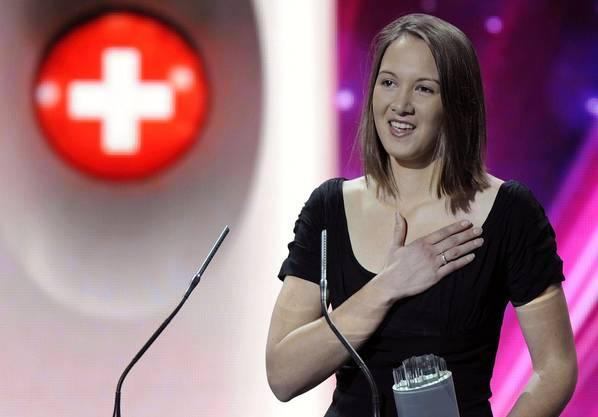 Sophie Hunger gewinnt den Swiss Award in der Kategorie Show.