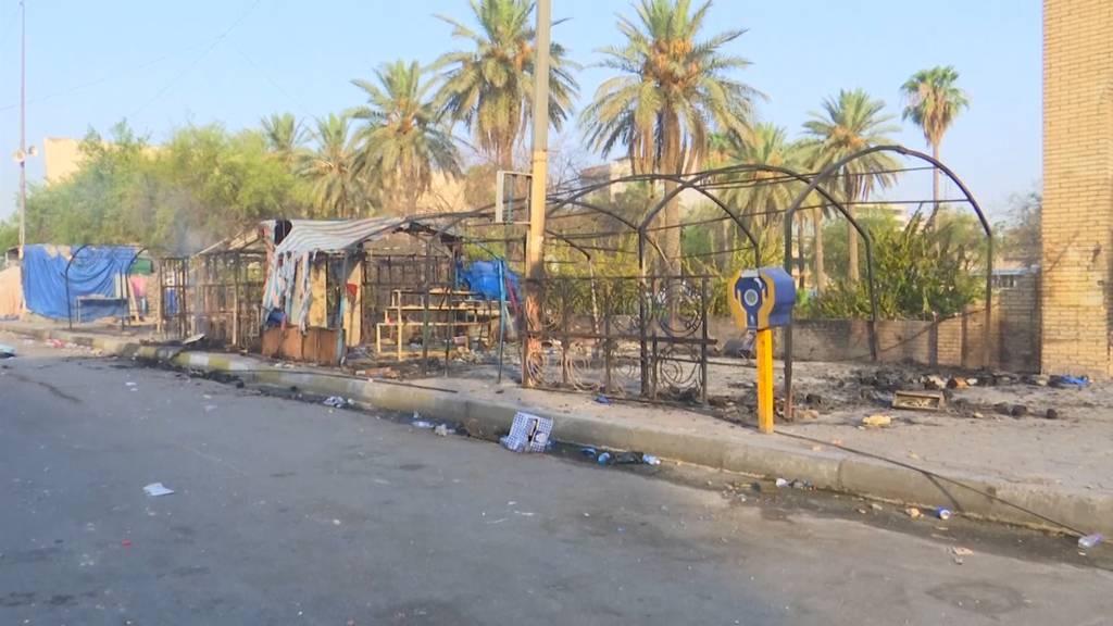 Irak: Zelte von Aktivisten in Brand gesteckt - Zwei Tote