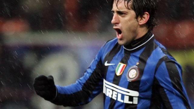 Diego Alberto Milito rettet Inter Punktgewinn