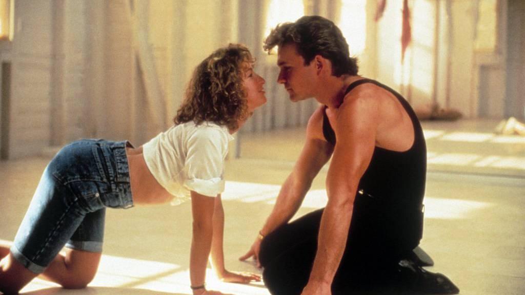"""Eine der kultigsten Szenen aus Dirty Dancing: """"Baby"""" und """"Johnny"""" singen tanzend...(KEYSTONE/UNITED ARCHIVES)"""
