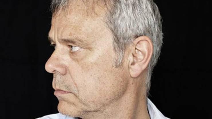 Nach 2007 versucht der gebürtige Glarner Autor Dieter Zwicky (58) heuer zum zweiten Mal sein Glück im Wettlesen um den Bachmannpreis. (Pressebild ORF)
