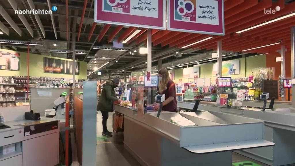 Migros spürt veränderetes Einkaufsverhalten der Kunden