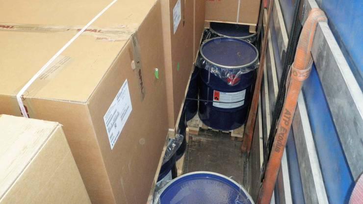 In sieben Fällen war die Ladung nicht ausreichend gesichert. (Symbolbild)