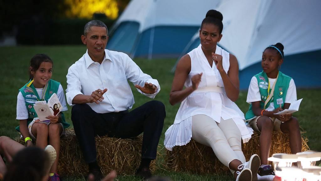 Diese Songs hören die Obamas im Sommer