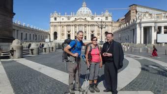 Härkinger Ehepaar auf Pilgerreise nach Rom