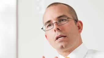 Hält nichts vom Gerede über Fachkräftemangel: Markus Blocher (44).Alex Spichale