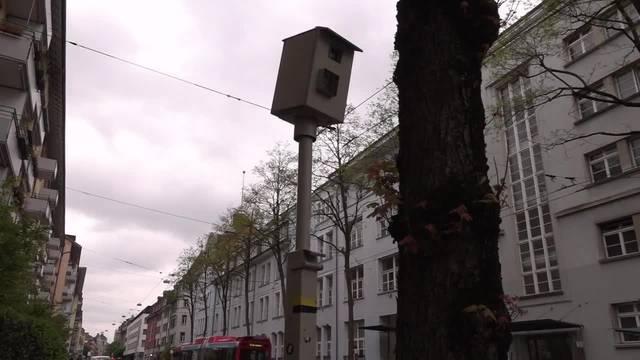 Keine fixe Radarfalle in Baden