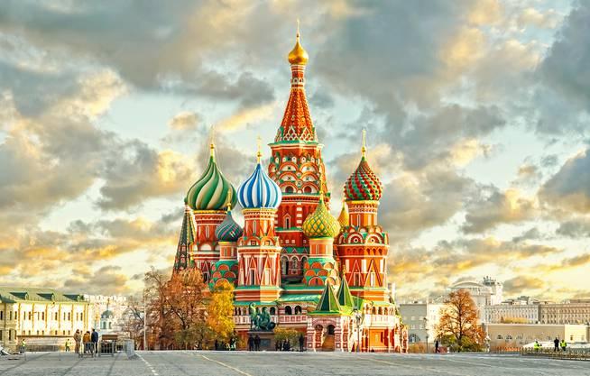 Start in Moskau