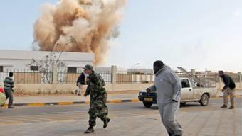 Die Unruhen in Libyen