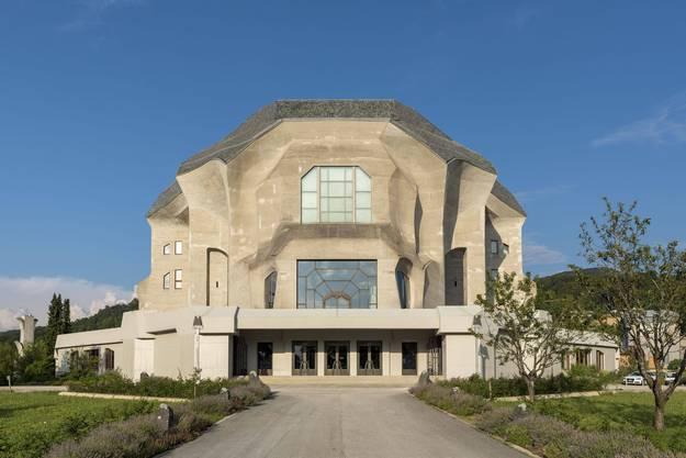 So sieht das Goetheanum heute aus.
