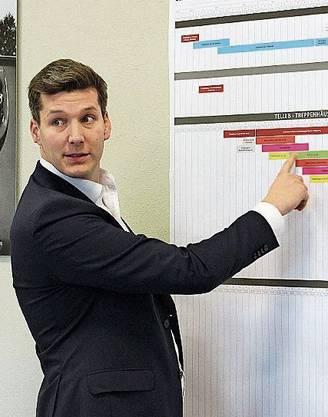 Julian Kommer, Gesamtprojektleiter Baumanagement.