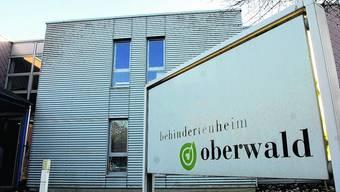 Das Behindertenheim Oberwald.
