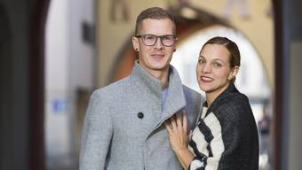 Tobias Krummenacher und Désirée Sibold - Planen im Sommer an der Badener Limmatpromenade ein Lokal zu eröffnen