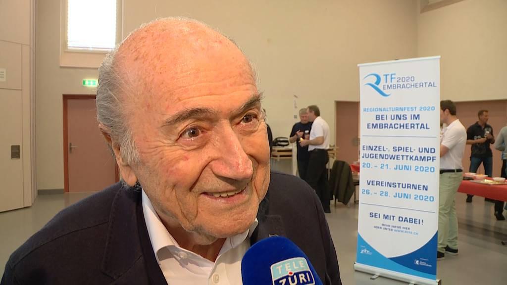 Blatter prüft Klage gegen Fifa-Präsident