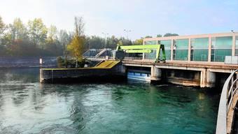 Flumenthal: Das Aarekraftwerk beliefert dank Modernisierung 1750 Haushalte zusätzlich mit Strom. (Bild: Oliver Menge)