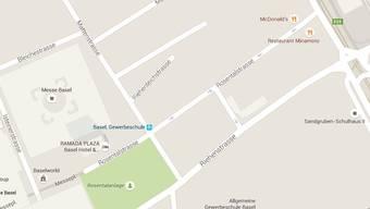 Der Mann wurde in der Rosentalstrasse ausgeraubt.