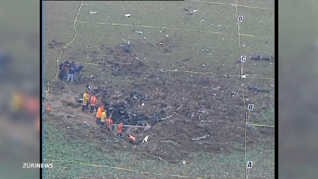 20 Jahre Flugzeug-Unglück Niederhasli: Ex-Gemeindepräsident erinnert sich