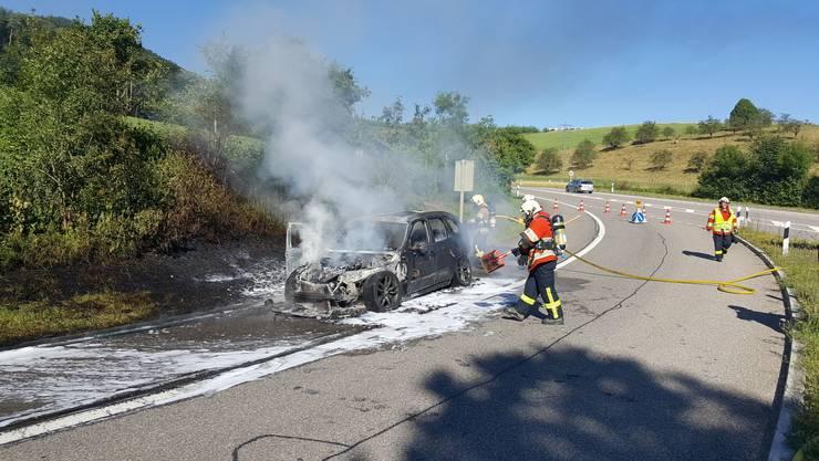 Die Feuerwehr Bölchen konnte den Brand löschen.