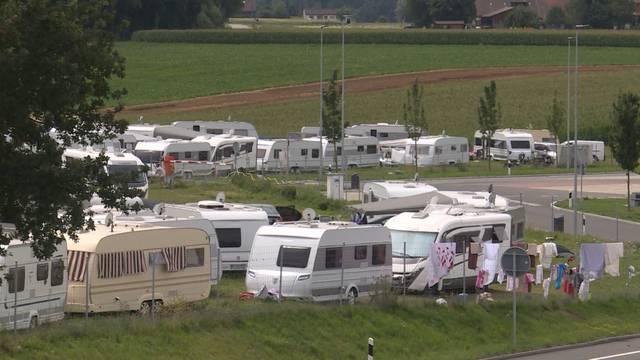 Definitiver Transitplatz für Fahrende in Wileroltigen