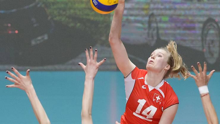 Mit 21 Punkten überragend im Schweizer Team: Laura Künzler. (Archivbild)