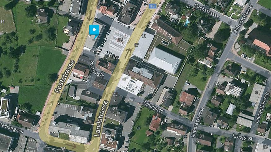 Der Vorfall passierte gegen 16.30 Uhr in Schaan.