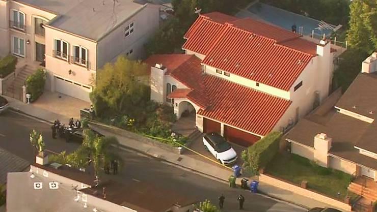 Rapper Pop Smoke wurde in diesem Haus in Los Angeles erschossen. ( Bild: TFox11 News KTTV-TV via AP Keystone-SDA)
