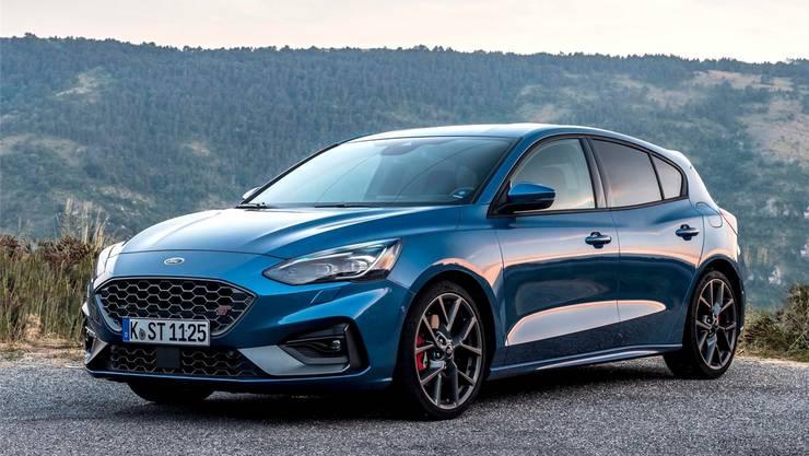 Ford Focus ST. Bild: ho